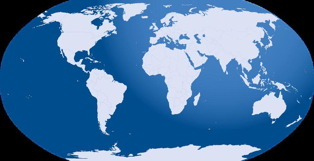 world map, world, map